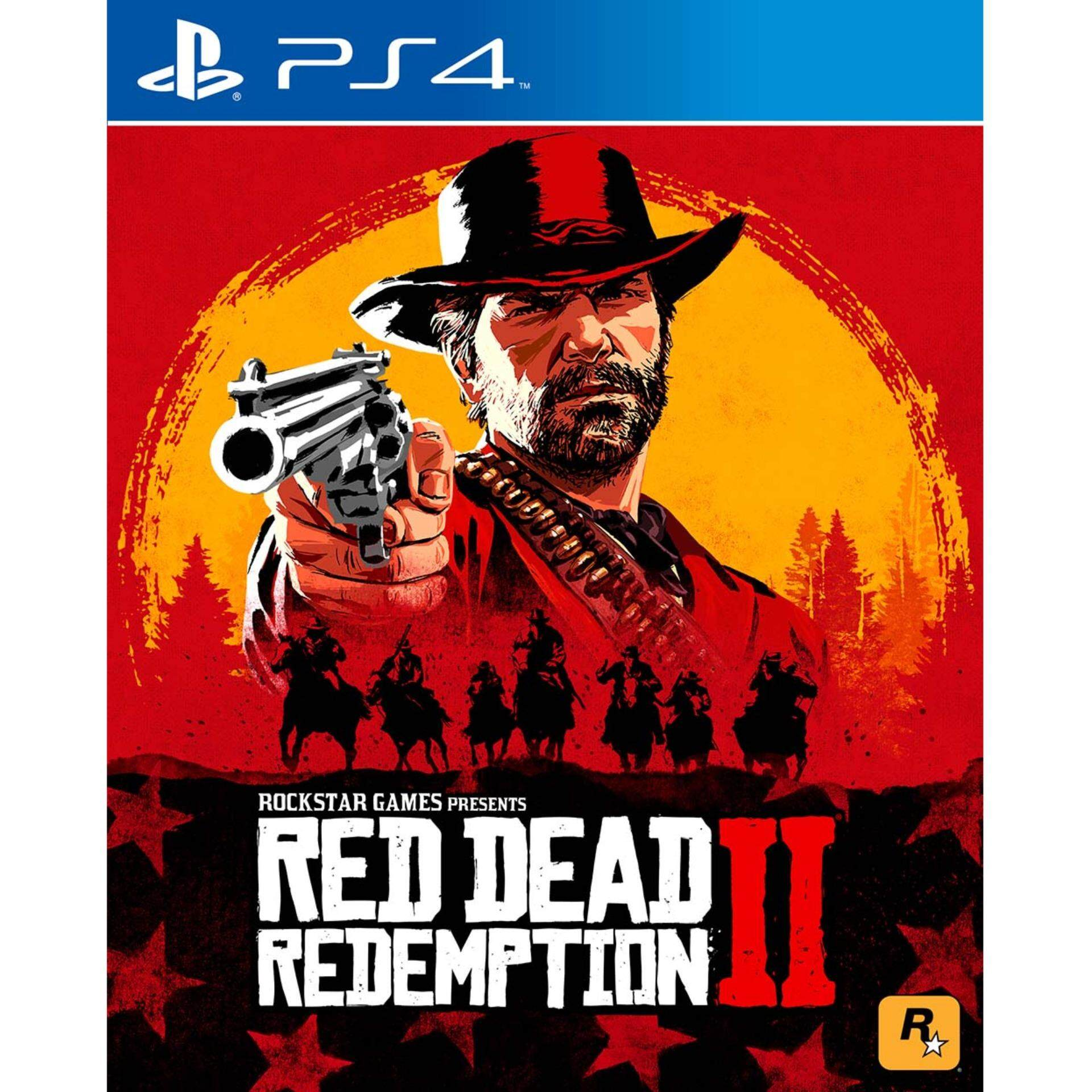 Playstation Games Buy At Best Price In Malaysia Ps4 Yakuza Kiwami 2 Steelcase Region 3 English Red Dead Redemption R3 Eng Chi Ready Stocks