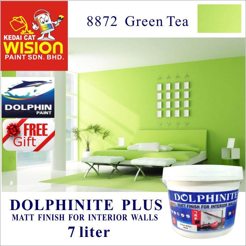( 8872 Green Tea )  DOLPHINITE  (7 LITER ) INTERIOR