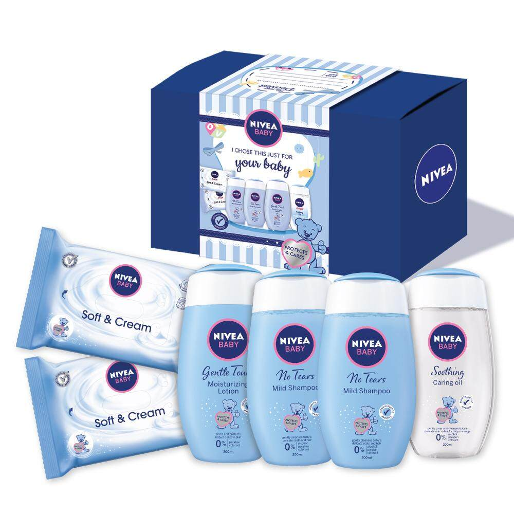 Nivea Baby Mothers Essential Gentle Pampering Set (total Worth Rm69.20) By Nivea Official Store.