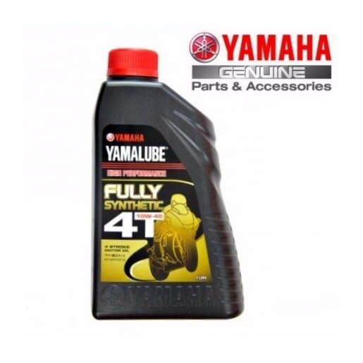 Yamalube 4t Fully Synthetic 10w-40 1 Litre By Motorbaik.