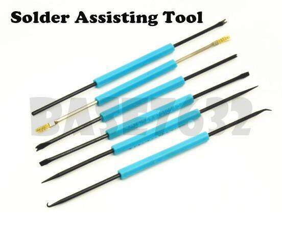 SA-10 6 in 1 6pcs Soldering Assist Tool Solder Iron Welding Assisting Phone Repair 1305.1