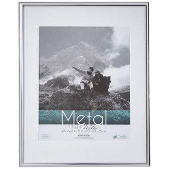 Jualan Timeless Frames Metal Photo Frame 10 By 13 Inch Silver