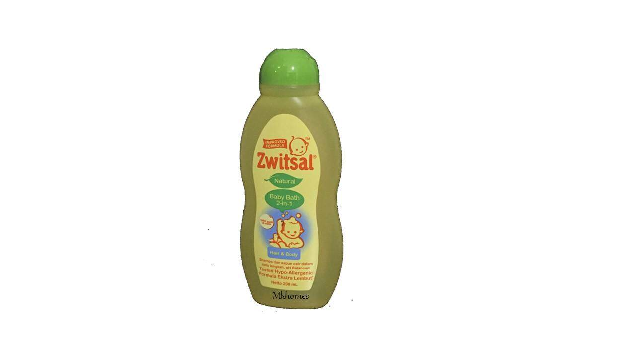 Zwitsal Baby Bath Natural 2-In-1 (Hair-Body)