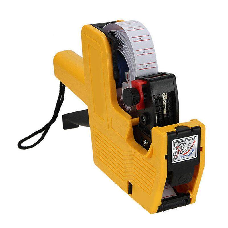Mx-5500 8 Digits Eos Price Tag Gun + Lines Label + 1 Ink By Valueshopping-Mal.