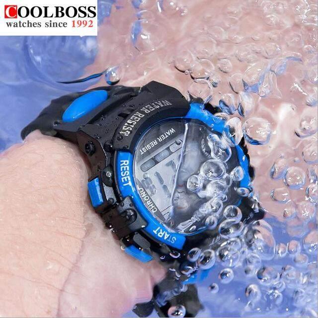 CoolBoss Fashion Kids Watches Creative Waterproof Children Watch Luminous Date Alarm Multifunction Girls Boys Student Sports Wristwatches Gifts Malaysia