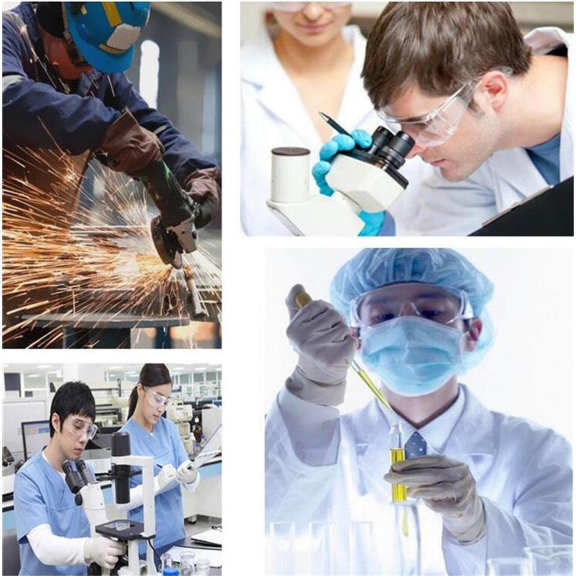 Orange Sunshine Workplace Safety Goggles Supplies Lab Eye Protection Protective Eyewear