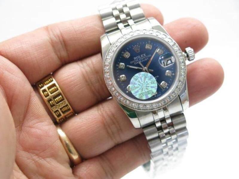 RO LEXX DIAMOND BEZEL BLUE Malaysia