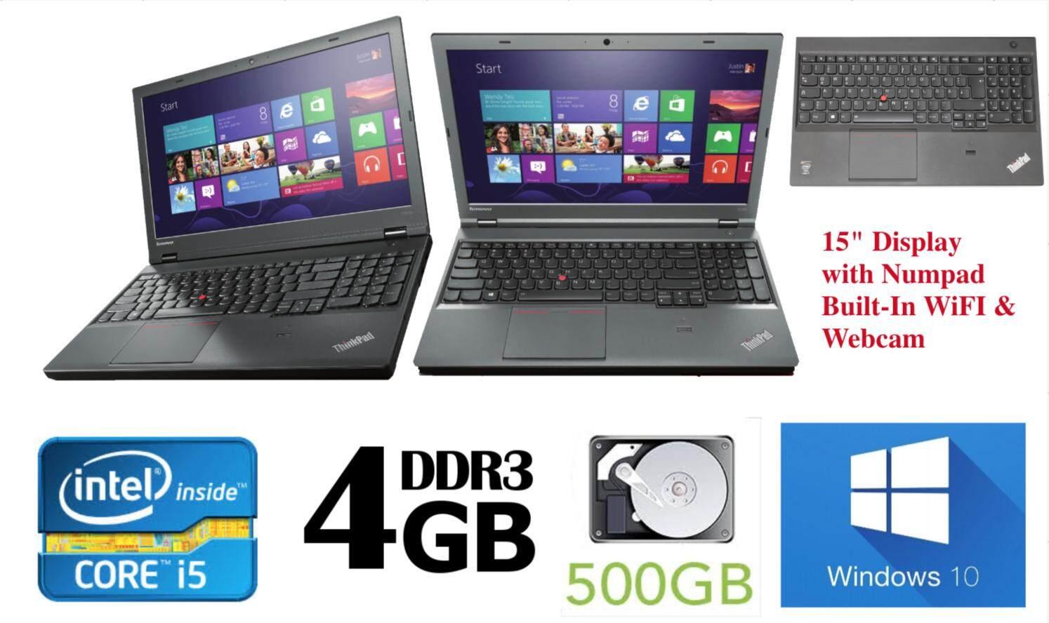 Lenovo ThinkPad T540 T540p Used Refurbished Laptop Core i5 w Numpad Malaysia