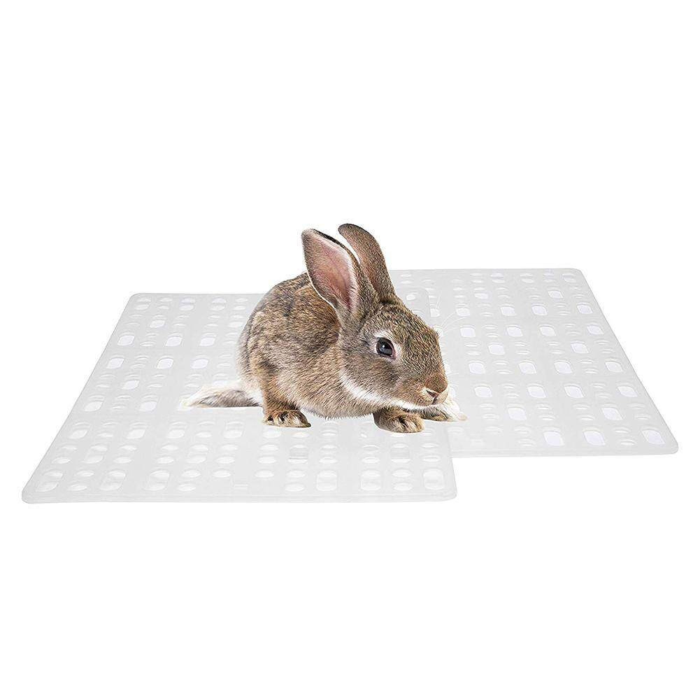 Hiqueen Plastic Grids Pet Foot Mat Rabbit Guinea Pig Cat Mouse Placemat Cushion Cage Litter Mat By Hiquuen.