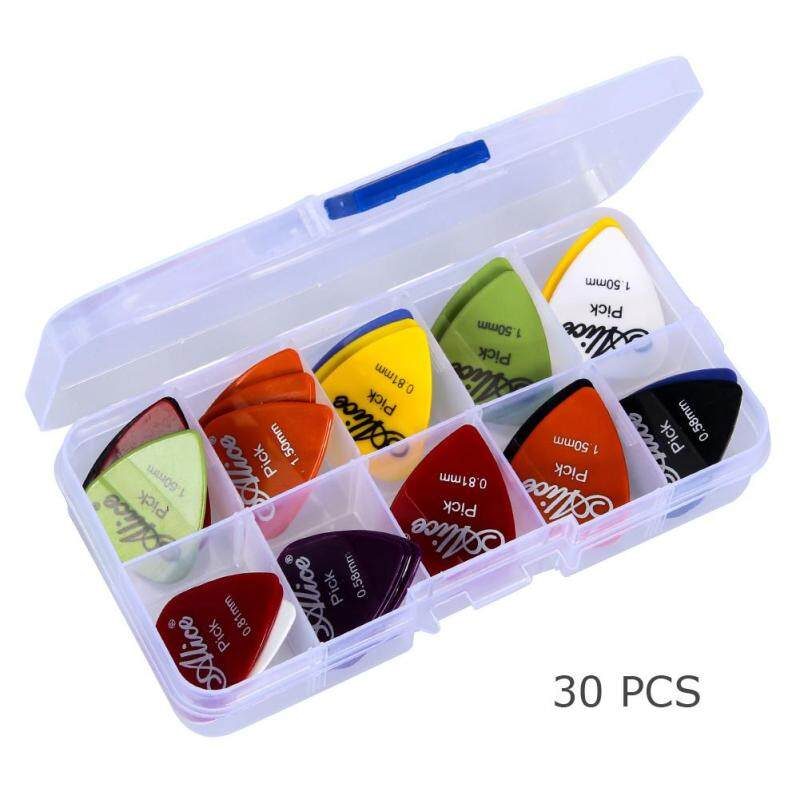 Acoustic Electric Guitar  Picks Plectrums +1 Plastic Picks Box Case Malaysia