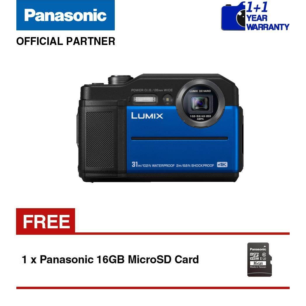 Panasonic Lumix Hc V385 Hd Camcorder Kamera Video Dc Ft7 Waterproof Digital Camera Orange Blue Black