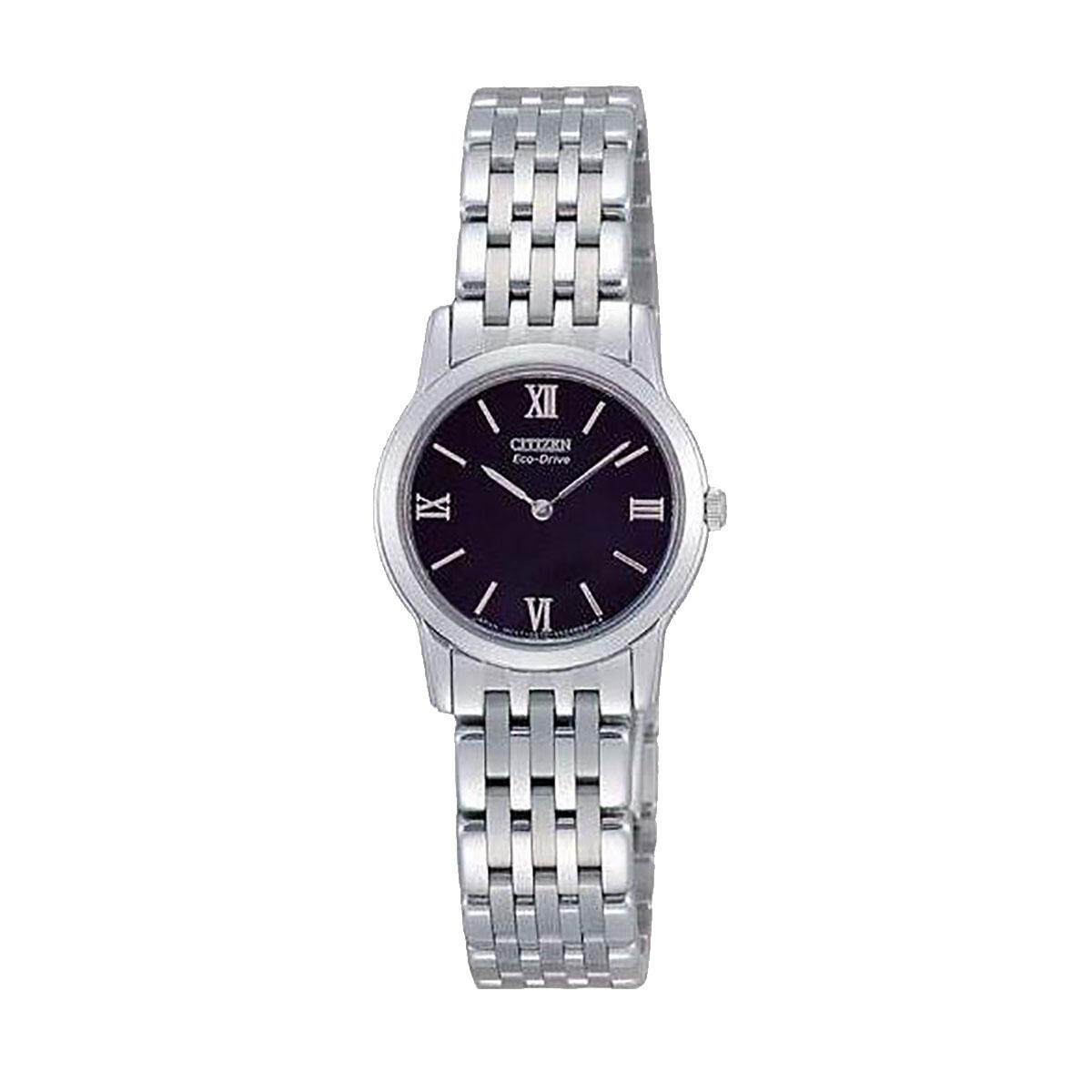 Citizen Citizen Eco-Drive Silver Stainless-Steel Case Stainless-Steel Bracelet Ladies EG3040-68E Malaysia