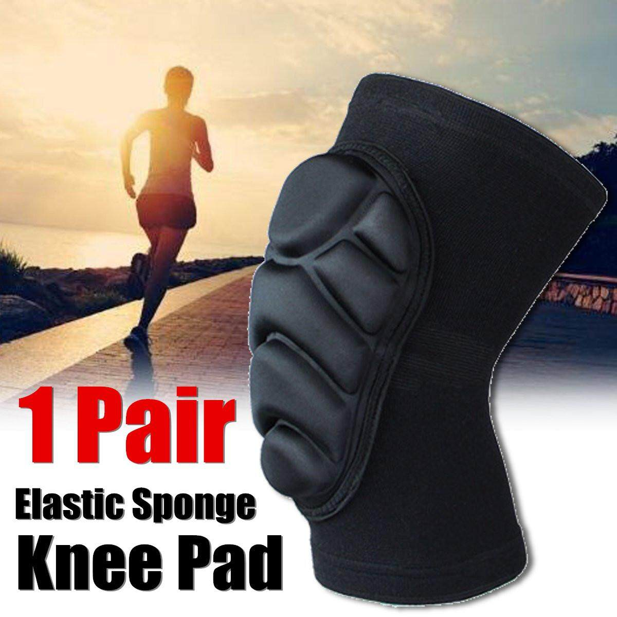 Pair Knee Pads Construction Work Sport Safety Gel Leg Protectors # XL