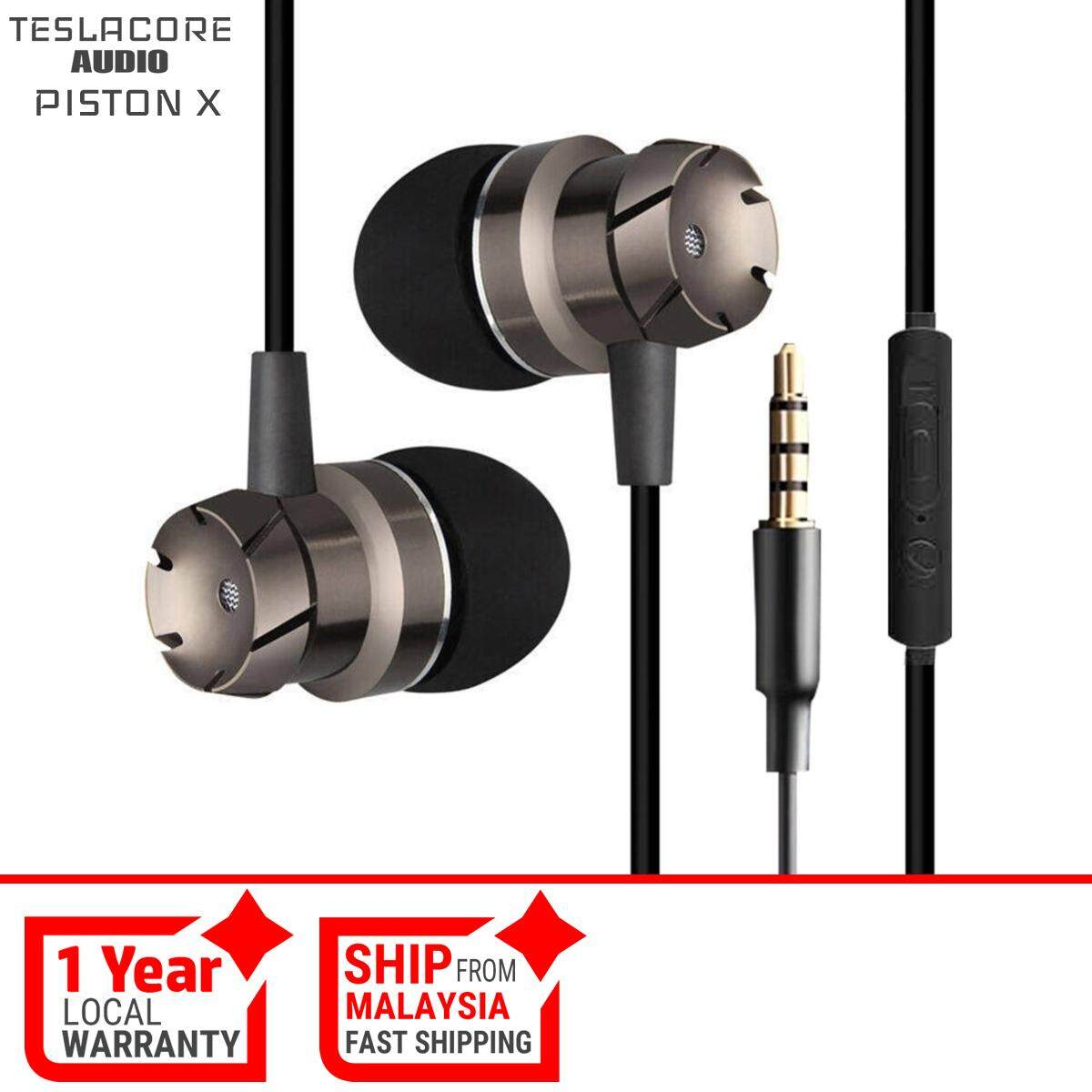 Headphones Headsets Buy At Best Price In Wiring Outdoor Speakers With Volume Control Piston Chrome Bullet Ear Earphone Stereo Bass Sound Noise Isolating Mic For Phone