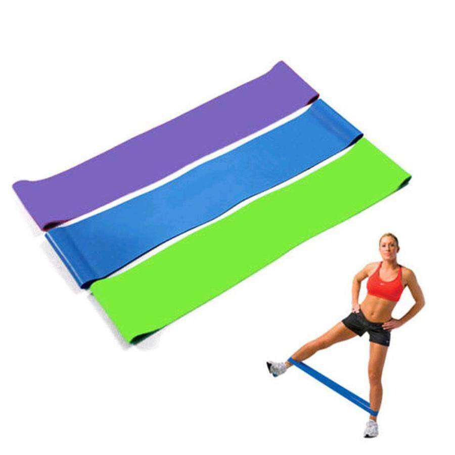Fantnesty Resistance Band Loop Yoga Pilates Home Gym Fitness Exercise Workout Training By Fantnesty.