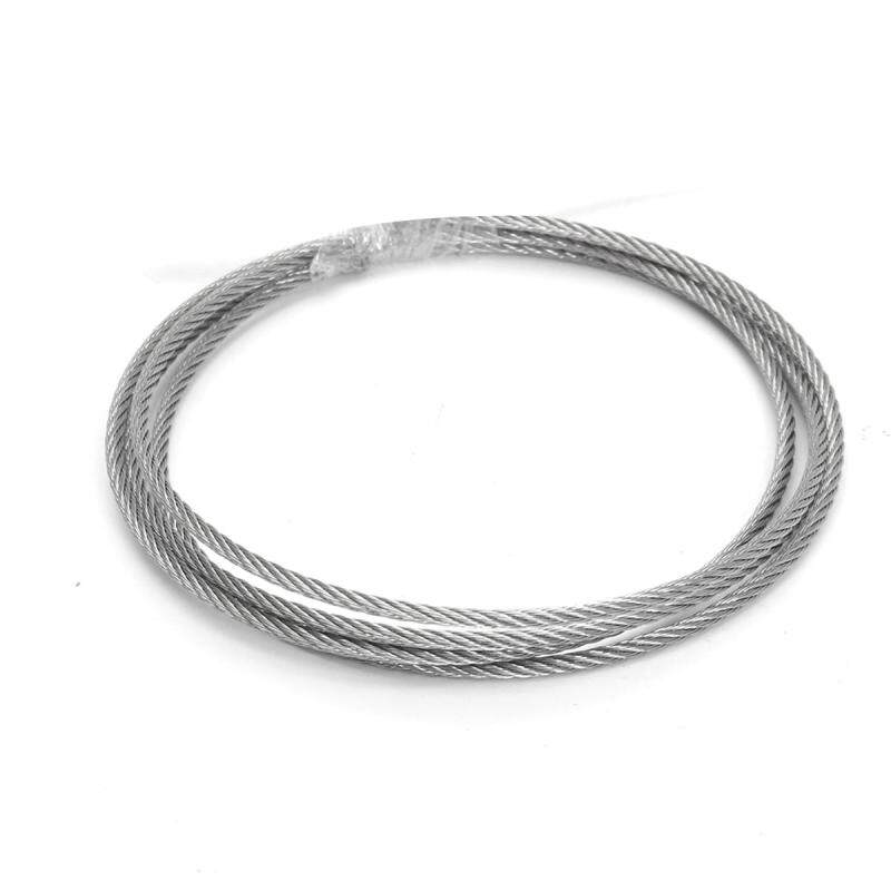 Stainless Steel Wire Rope Tensile Diameter 3mm Structure Cable