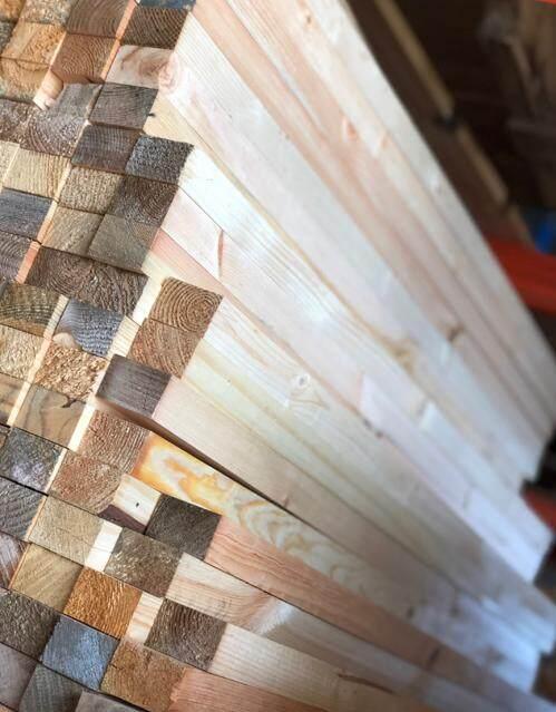 10 pcs Pine Wood Recondition 30mm x 50mm x 4.5ft