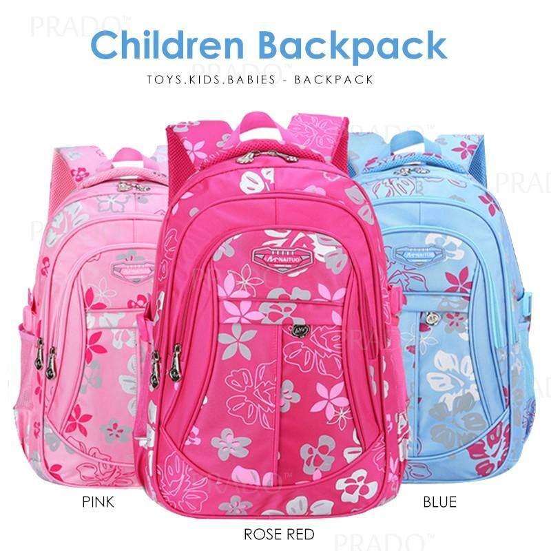 73fc6c290b49 PRADO Nylon School Backpack Student Light Weight Bags Beg Budak Sekolah  XFX05