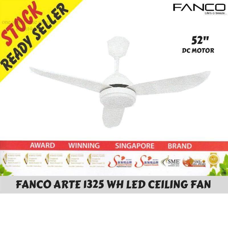 Fanco Arte 1325 Wh Led Ceiling Fan 3 Blades