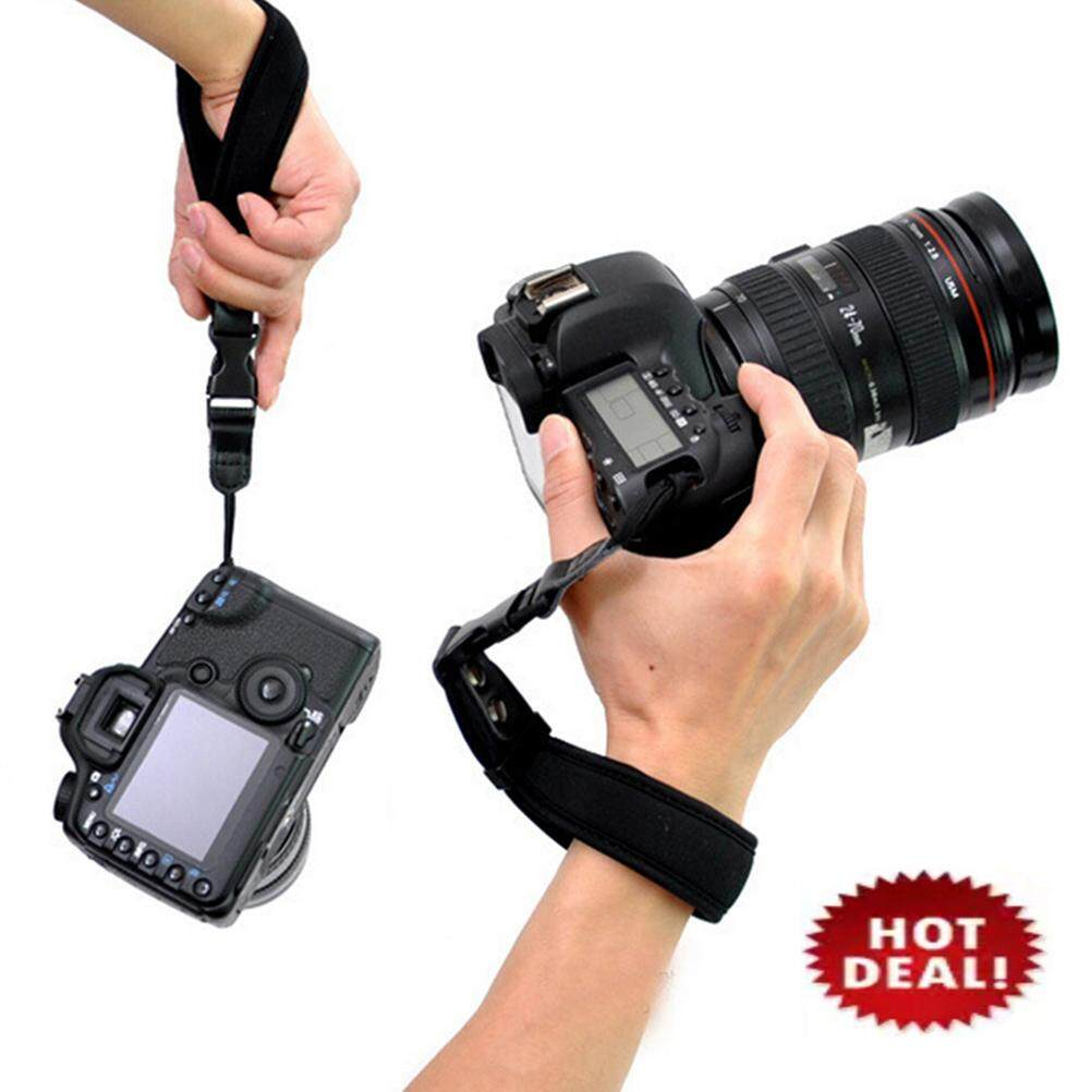 Camera Hand Grip For Canon Eos Nikon Sony Olympus Slr/dslr Cloth Wrist Strap By Amazing Diy Store.