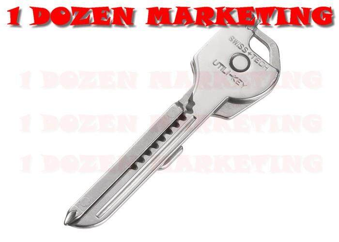 Swiss Tech 6-in-1 Utili key Ring Multi-tool Key Ring