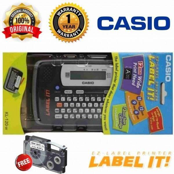 Casio EZ-Label KL-120-W Label Printer