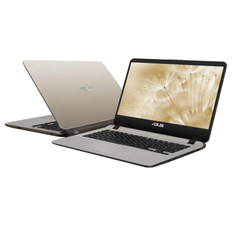 Asus A407M-ABV101T Gold  Pentium Silver N5000 2.7GHz  4GB DDR4  256GB SSD  14  1Year  Win10 Malaysia