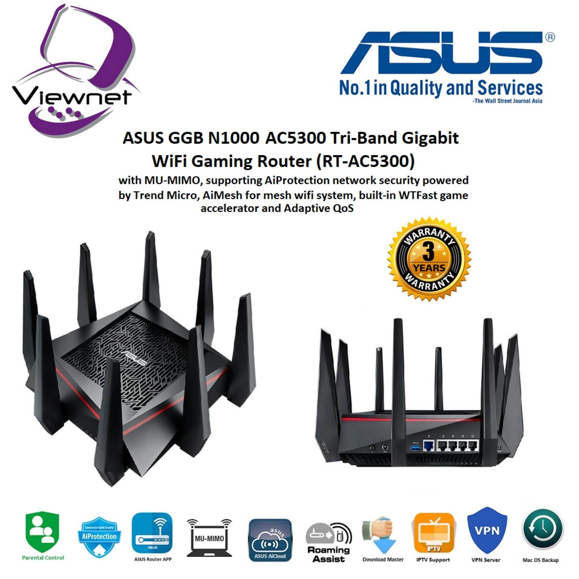 Asus Wireless Routers & WIFI With Best Price In Malaysia