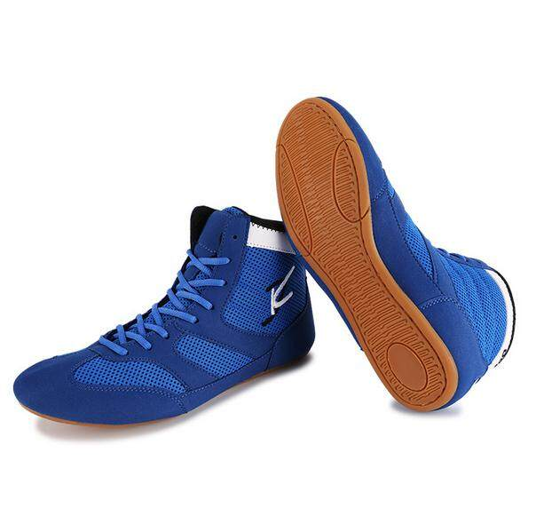 386e600d49fc29 Malaysia. LEFUS Men s Wrestling Shoes Tendon Sole Anti-skid Breathable Men  and Women Training Shoes Boxing