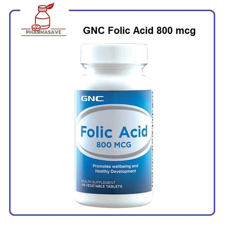 Folic Acid 800 Mcg By Pharmasave.