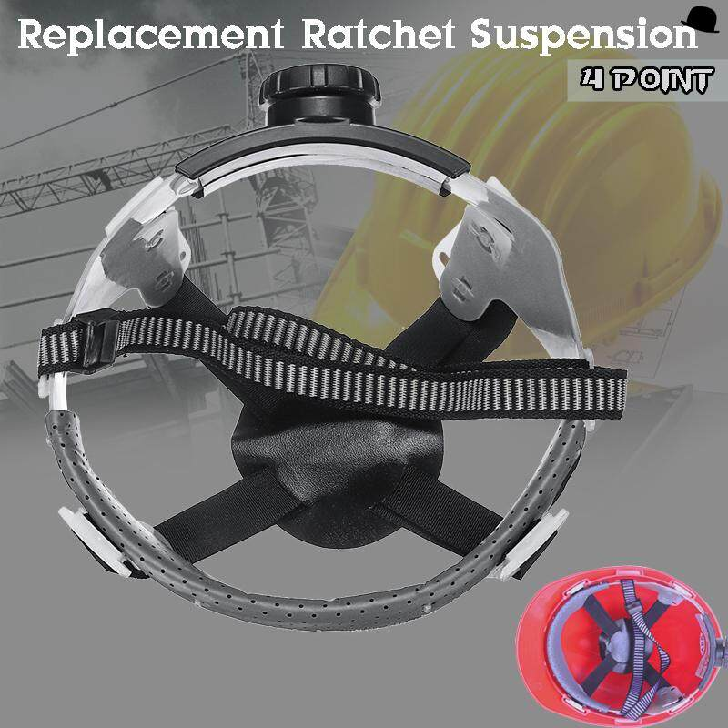 Safety Ratchet Suspension Replacement Headgear 4 Point Only For Hard Hat NEW
