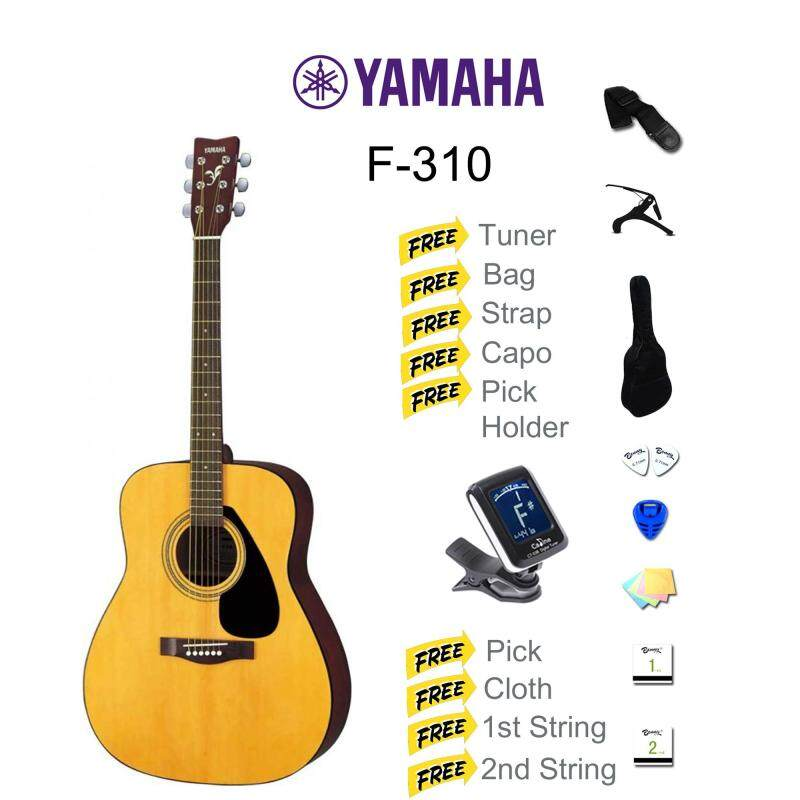 YAMAHA F310 ACOUSTIC GUITAR 41 (F-310) PACKAGE Malaysia
