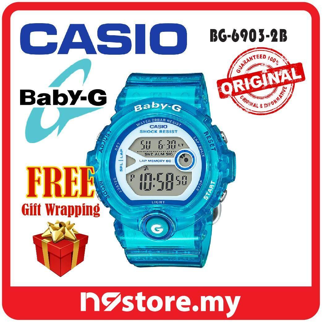Casio Baby G Watches Price In Malaysia Best Jam Tangan Cewek Bga 180 3b Original Bg 6903 2b Digital Ladies Jelly Blue Sports Watch