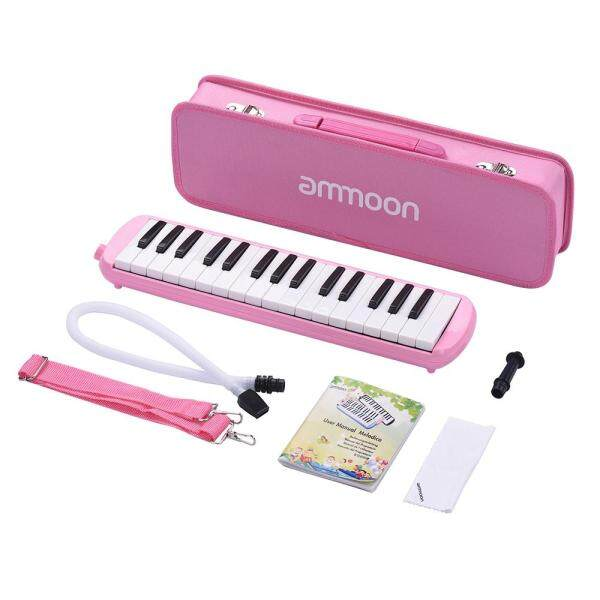 32 Keys Melodica Pianica Piano Style Keyboard Harmonica Mouth Organ with Mouthpiece Cleaning Cloth Carry Case for Beginners Kids Musical Gift Malaysia