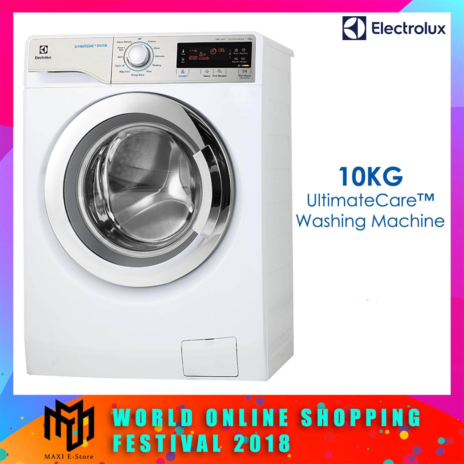 Electrolux EWF12033 Front Load Washer 10KG 1200RPM ADD CLOTH
