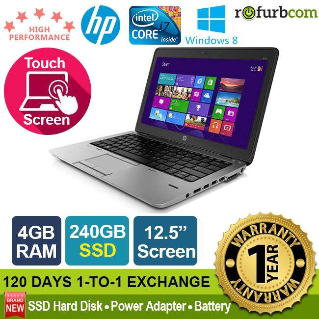 HP ELITEBOOK 820 G1 / INTEL CORE I7 4TH GEN (240 SSD) [refurbished] Malaysia