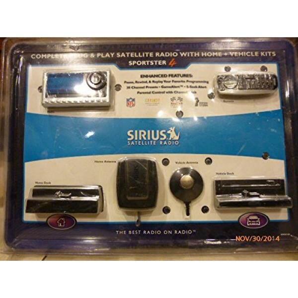 Sirius SP4TK1VP Sportster Model 4 Bundle with Home Kit