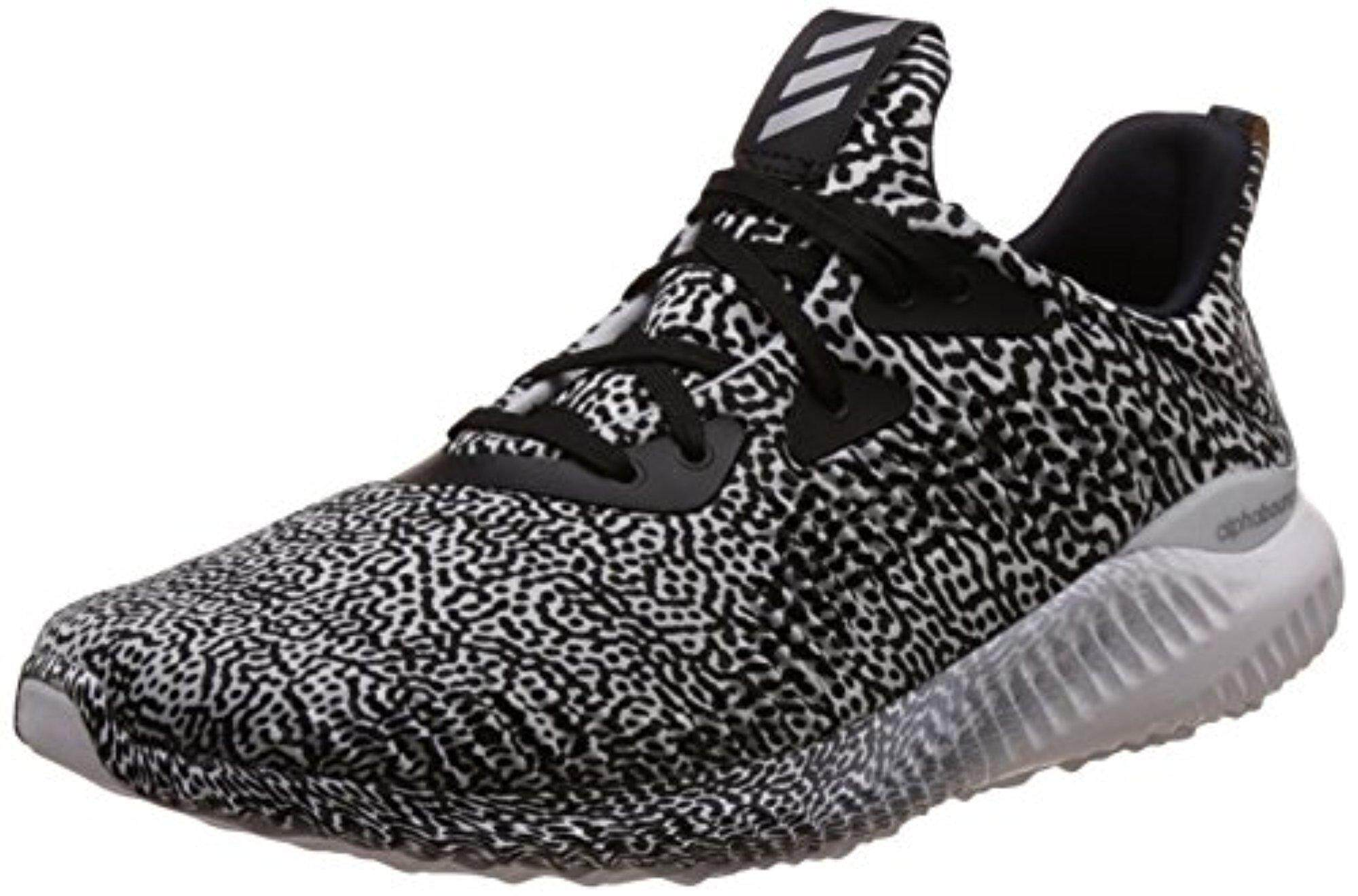 on sale c4d62 dd6b9 adidas Women s Alphabounce W Aramis Cblack, Ftwwht and Clgrey Running Shoes  - 6 UK