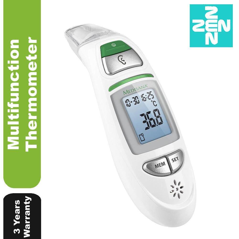Medisana Infrared Digital Forehead Ear Body Thermometer Tm 750 (3 Years Warranty) By Zen Pharmacy.