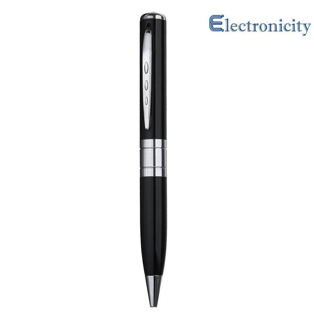 32gb Hd 1280x1024 Ball Pen Hidden Camera Security Video Recorder Camcorder ( Black ) By Electronicity.