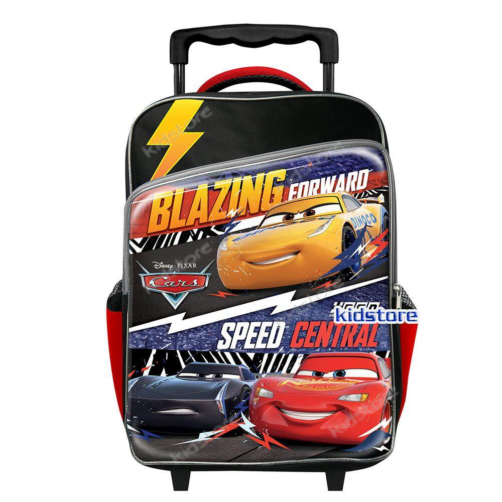 Disney Cars Race Primary School Trolley Bag By Kidstore.