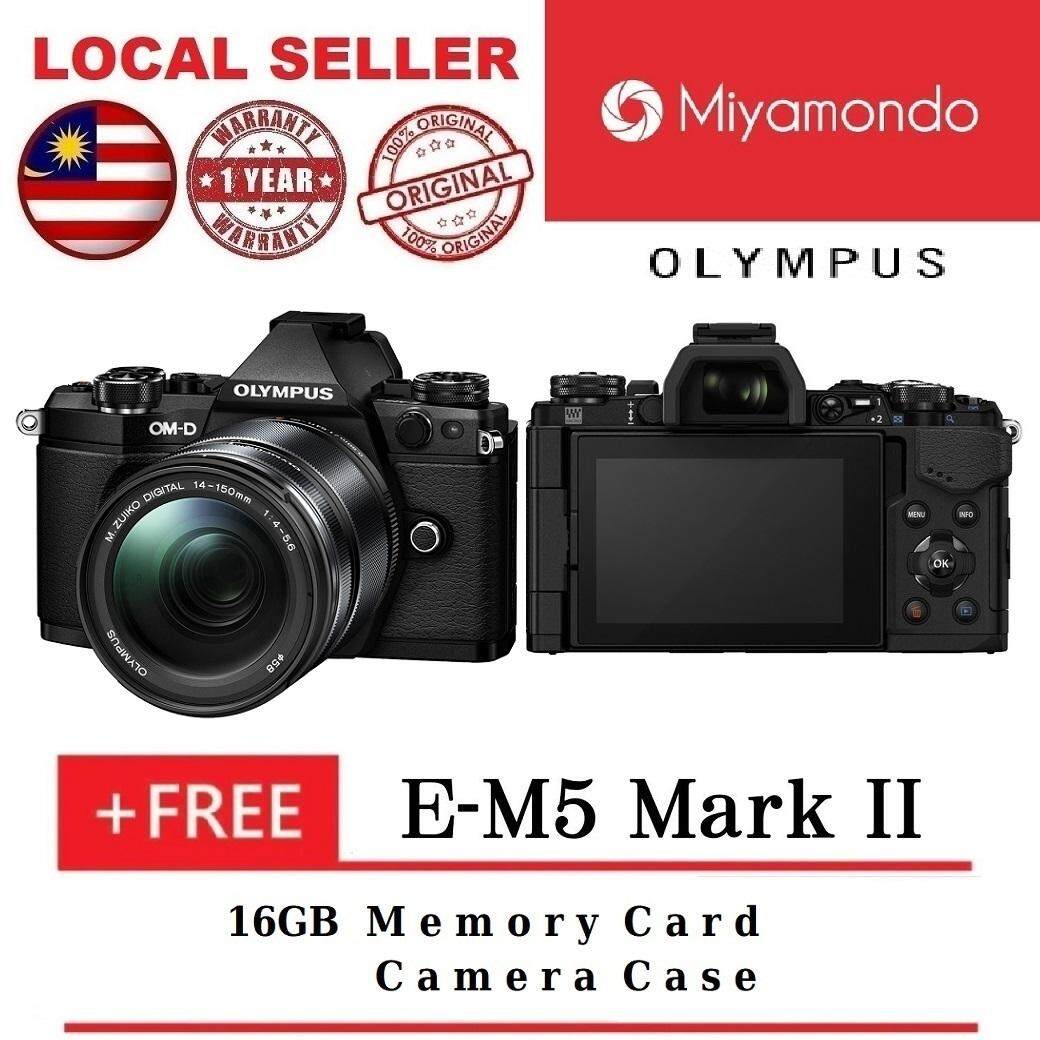 Olympus Mirrorless Cameras Price In Malaysia Best Mzuiko Ed 12 50mm F 35 63 Ez Black E M5 Mark Ii 14 150mm Lens Kit 16gb Bag
