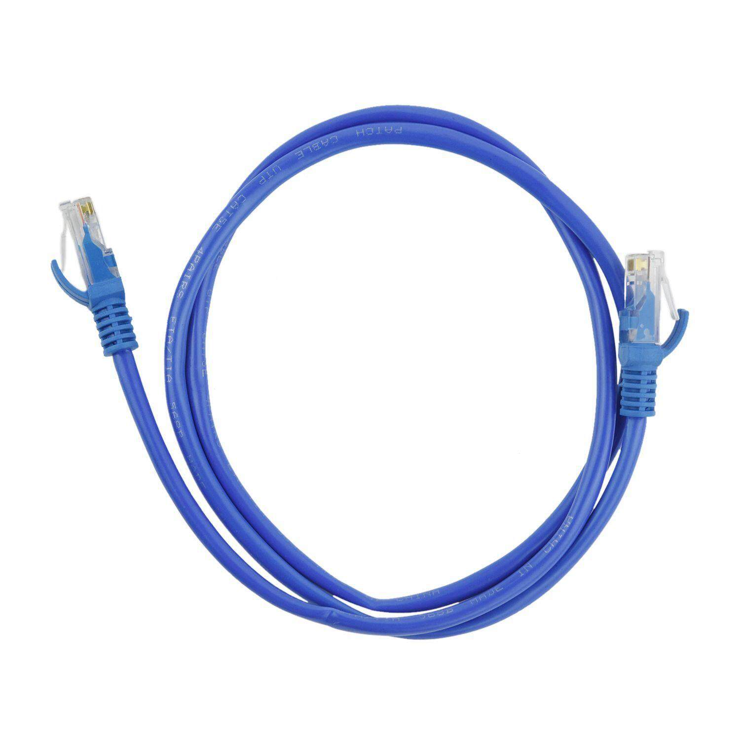Computer Laptop Ethernet Cables For The Best Prices In Malaysia Male Cable Cat 5 Wiring Diagram Cat5 Cat5e Network Lan Blue 1m