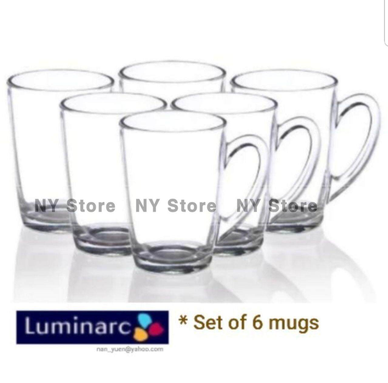 Luminarc Tempered New Morning Mug Set (Set of 6)