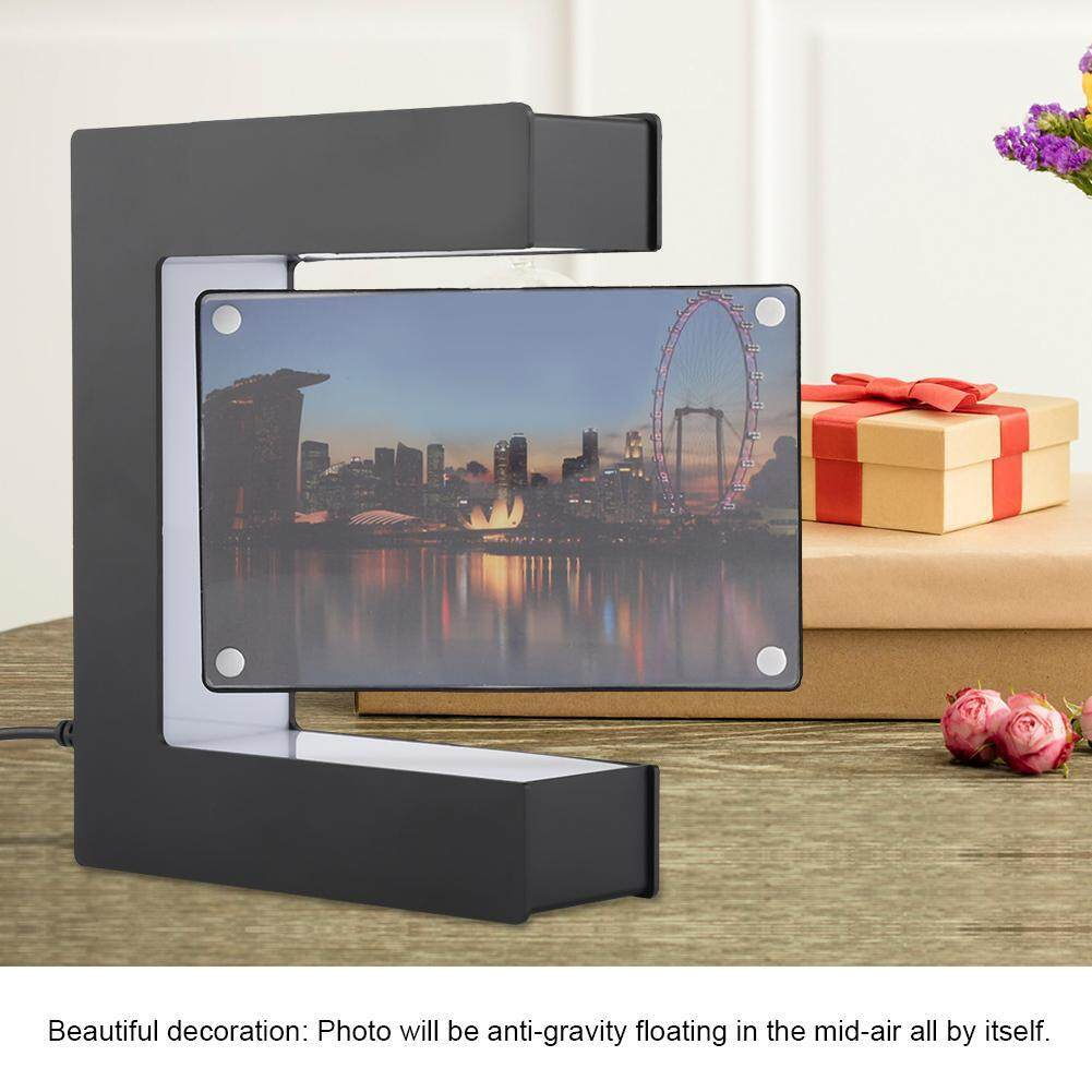 6/7inch Office Desktop Holder Modern Decorations Photo Frame Acrylic European Style Picture U-shaped Home Wooden Stand Fashion Home & Garden