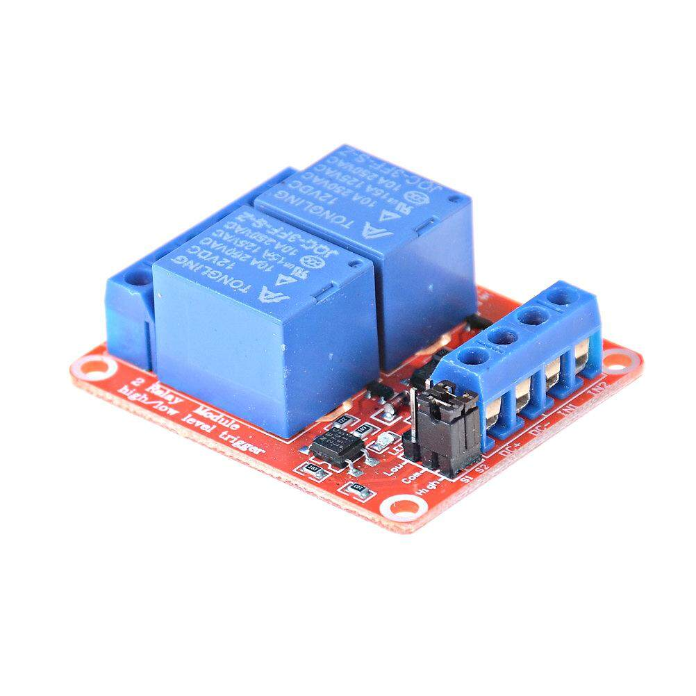 Graceful 2 Channel 12V Relay Module Board Shield With Optocoupler Support on