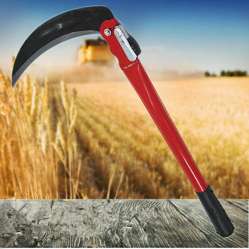 Buy Steel Grass Sickle Scythe Folding Handle Gardening Farming 420mm Tool  Malaysia