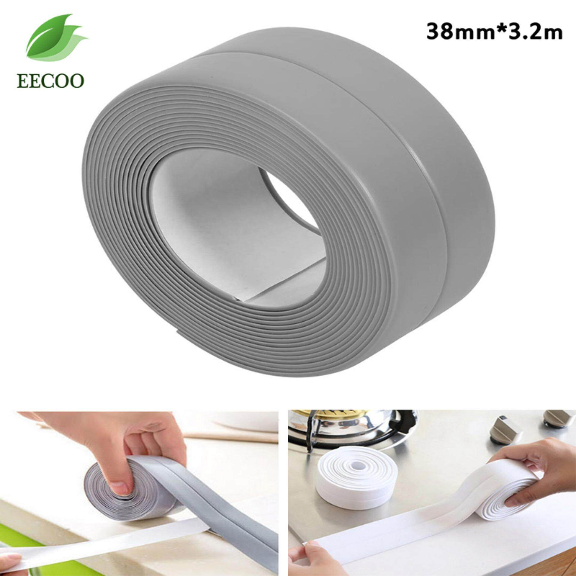 Home Diy Bath And Wall Sealing Sticky Band Strip Kitchen Sink Basin Edge Trim Tool