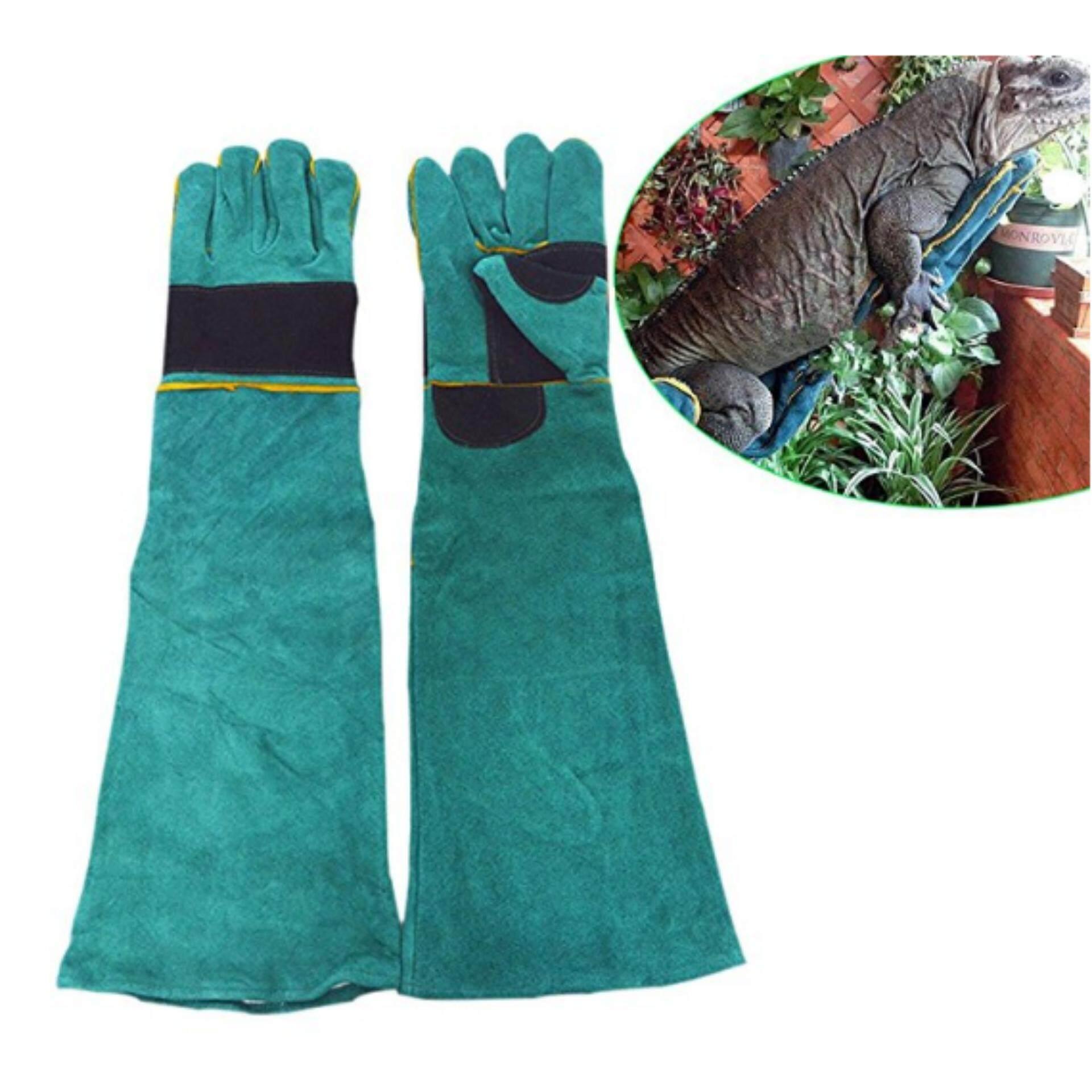 Animal Handling Anti-bite/scratch Gloves For Dog Cat Bird Snake Parrot Lizard Wild Animals Protection Gloves