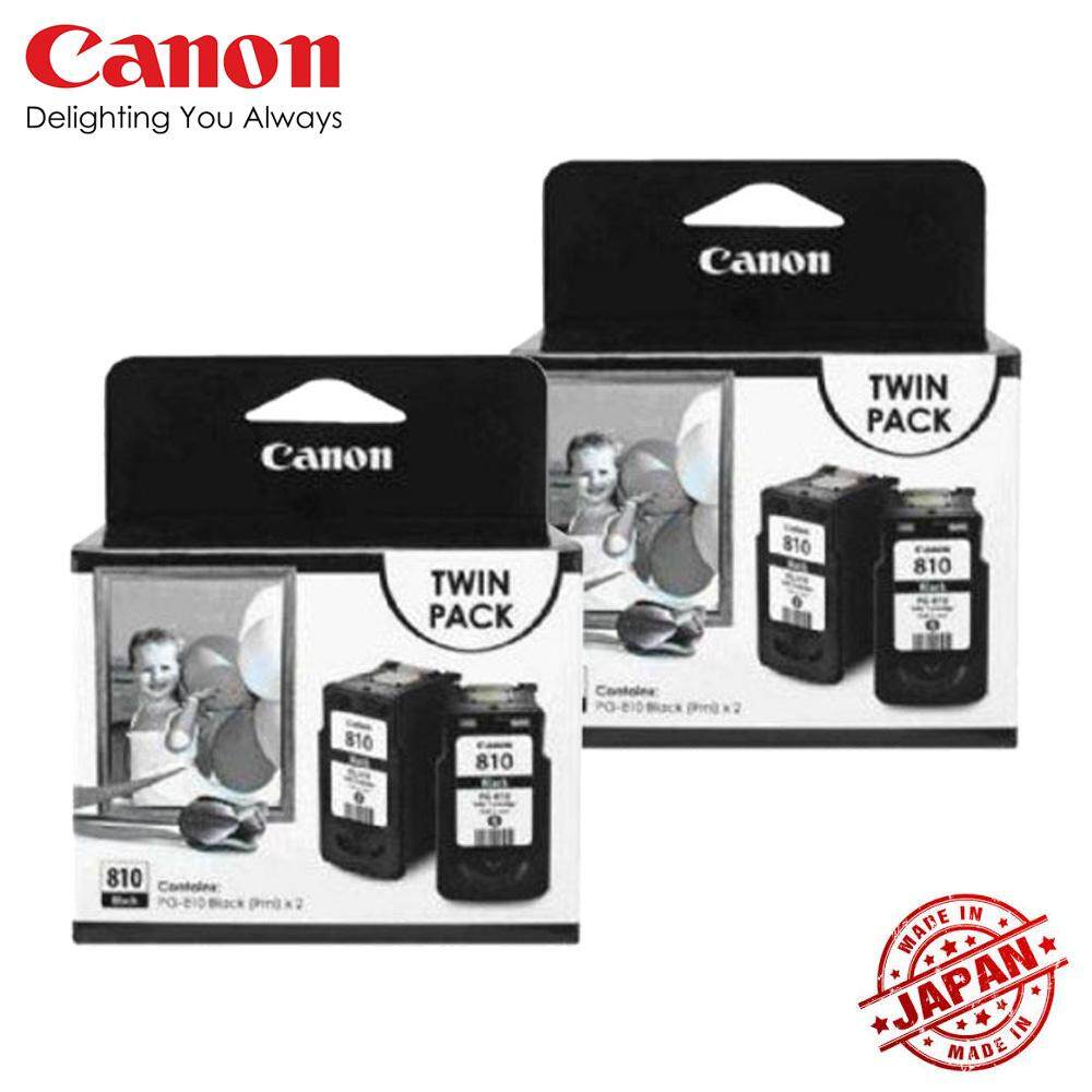 Buy Sell Cheapest Pg 810 811 Best Quality Product Deals Catridge Canon Cl811 Cl Katrid Ip2770 Mp237 Mp245 Mp258 Ink Cartridge Black X4 Twin Pack Pg810